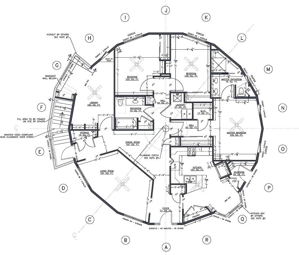 Main floor plan Building plans