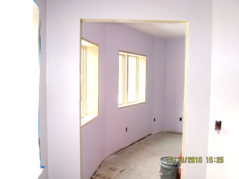 lavender wall paintProject Interior Painting