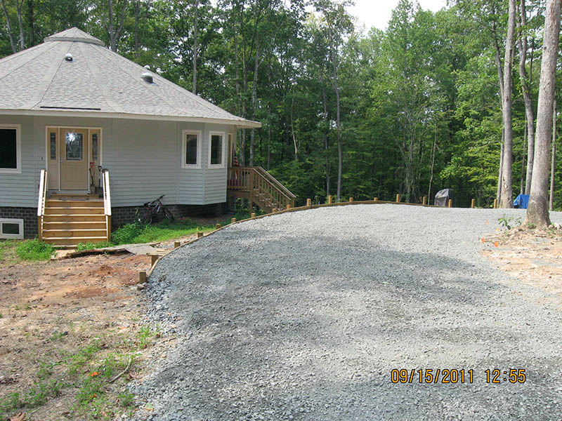 Project Driveway Loop And Entrance