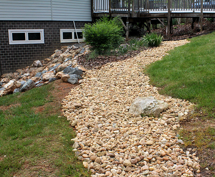 Project landscaping for Landscaping rocks on a hill