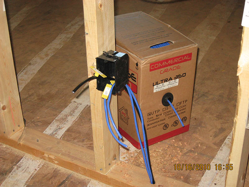 on wiring home with ethernet
