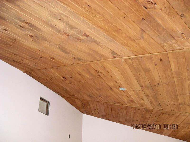 Update Wood Plank Ceilings